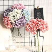 GI- Artificial Hydrangea Flower Arrangement DIY Wedding Party Desktop Home Decor