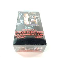 Terminator 2 Official T2 Judgment Day Trading Cards (Impel, 1991) Sealed Box