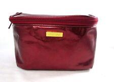 Shiseido Red Cosmetic Makeup Bag
