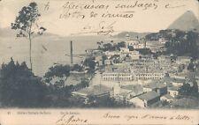 BRAZIL Rio de Janeiro Entrada da Barra 1908 PC