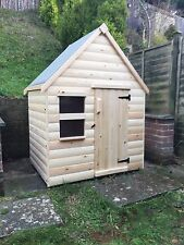 Childrens Wooden Play House/Wendy House LOG LAP - CAN DELIVER