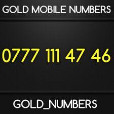 GOLD 0777 GOLDEN EASY VIP DIAMOND PLATINUM 0777 MOBILE NUMBER 07771114746