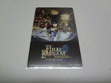 Fire Emblem Souen no Kiseki Gamecube not-for-sale (2) Telecard Japan NEW