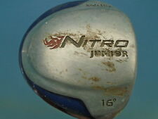 "PRE LOVED NITRO JUNIOR DRIVER - 33"" LONG - 16' LOFT - GRAPHITE SHAFT"