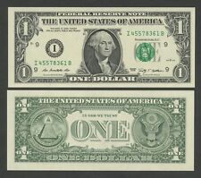North American Banknotes with Consecutive Numbers