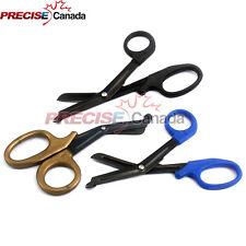 3 Tactical Black Emt Shears Scissors Bandage Paramedic Ems Supplies 725