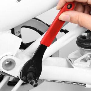 Bike Bicycle Crank Set Bottom Bracket Wrench Repair Tool Wheel Remover Spanner