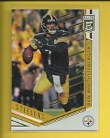 Ben Roethlisberger 2018 Panini Elite Card # 64 Pittsburgh Steelers Football