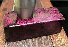 106g Nephrite Jade Rough Cut Cuboid Slabs ! Icy Red & Green tinct Jade Specimen