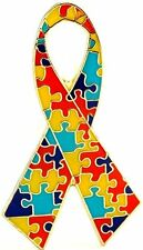 Autism Ribbon Lapel Hat Pin Autism Awareness Tie Tac Fast Usa Shipping