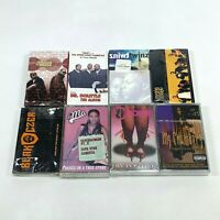 Lot of 8 Cassette Tapes 90s Rap Hip Hop Timbaland Magoo Twinz Black Czer *SEALED
