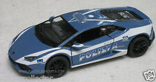 Kinsmart 1/36 Lamborghini Huracan Polizia Italian Police Car