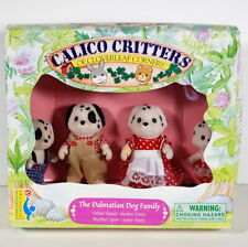 Sylvanian Families Calico Critters Dalmatian family set Very rare Dolls
