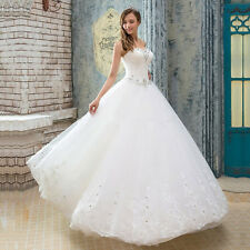 Cheap Ball Gown Wedding Dress Bridal Gown Real Photo with Crystals Plus Size