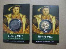 Henry V111 Coin Packs - Half Angel And Groat