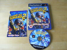 PLAYSTATION 2 / PS2 Destroy All Humans 2 (Sony PlayStation 2, 2006) FREE UK P&P