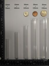 100 count Borosilicate Glass culture/test tubes