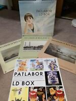 Patlabor Japanese Initial OVA series LD Laserdisc Box