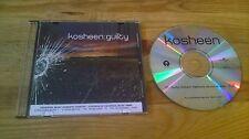 CD Pop Kosheen - Guilty (1 Song) Promo UNIVERSAL ISLAND sc