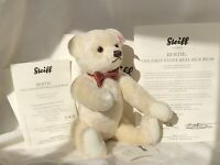 "Steiff 10"" Bertie, The First Steiff Real Silk Bear, Ltd Ed fr 2010"