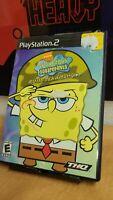 SpongeBob SquarePants: Battle for Bikini Bottom (PlayStation PS2) ✅CIB/Complete