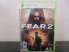 F.E.A.R. 2: Project Origin  (Xbox 360, 2009) *Tested