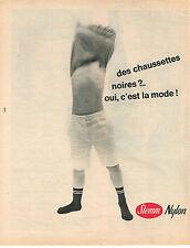 PUBLICITE ADVERTISING 044  1960  STEMM  chaussettes enfants