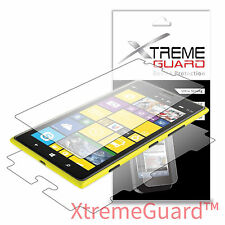 XtremeGuard Clear LCD FULL BODY Screen Protector Skin For Nokia Lumia 1520