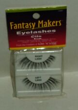 Fantasy Makers Wet N Wild 1 Pair Of Eyelashes Cils & Adhesive Black #C9980 NIP