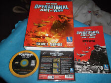NORM KOGER'S OPERATIONAL ART OF WAR PC-CD BOXED RTS STRATEGY V.G.C. FAST POST