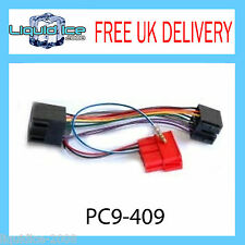 PC9-409 AUDI CABRIOLET AMPLIFIED ISO LEAD STEREO RADIO HEAD UNIT WIRING CABLE