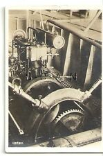 WWI Org German Real Photo- Cigarette Card- Zeppelin- Airship LZ 1- Engine