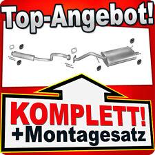 Auspuff MG ZR 105 1.4 Schrägheck ROVER Auspuffanlage P35