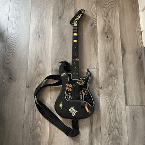 Guitar Hero Kramer Striker Redoctane Wireless Controller PS2 Tested and Works