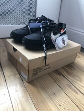 AUTHENTIC Nike X Off White Air Max 90 Black Size 7.5