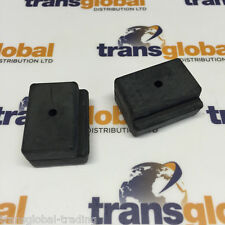 Land Rover 90 & 110 Truck Cab Upper Tailgate Rubber Buffer x2 - Quality OEM Part