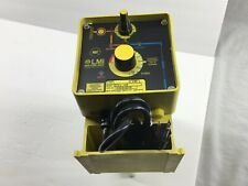 LMI Milton Roy C741-35P Metering/Dosing Pump  Max/GPD Output 480 Max/PSI 25 NEW