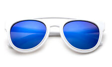 Girls Pink Mirror Lens Sunglasses Kids Classic Sporty Lead Free UV 100% Retro