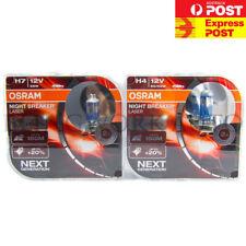 OSRAM H4 H7 +150% Night Breaker LASER Headlight Hi Lo for Ford Falcon BA BF FG 1