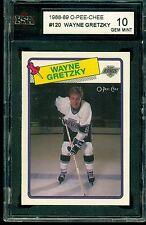 1988 89 OPC #120 Wayne Gretzky KSA 10 GEM MINT