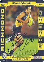✺Signed✺ 2017 RICHMOND TIGERS AFL Premiers Card SHANE EDWARDS