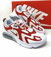 Nike Air Max 200 White University Red Men's All Sizes Sneakers AQ2568 100