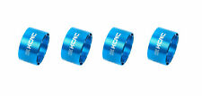 KCNC Hollow Design Road Mountain Bicycle Bike Headset Spacers 20mm 4pcs Blue