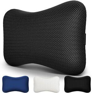 Neck Support Travel Pillow Memory Foam Cushion Headrest Car Flight Plane Train