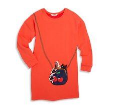 Little Marc Jacobs Girls Size 14 Light Red Long Sleeves Dress