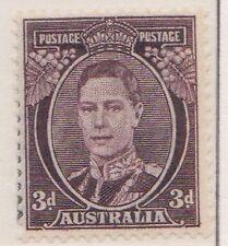 (Q19-100) 1937 3d brown KGVI MH