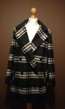 Topshop check Oversized Coat Size UK 8