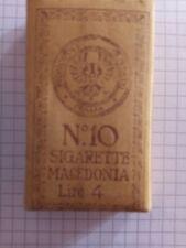 """PACCHETTO SIGARETTE """"MACEDONIA"""" DA COLLEZIONE Monopolio Regno D'Italia"""