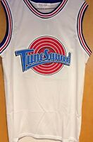 Michael Jordan #23 Space Jam Tune Squad Basketball Jersey S M L XL XXL White