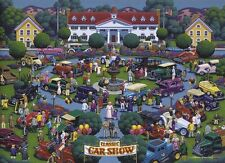Jigsaw puzzle Car Antique Classic Car Show 1000 piece NEW Made in the USA